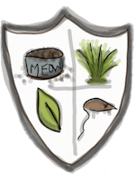 FDB Crest for Cats - the Kibble, Grass, Nip, Wounded Mouse Crest